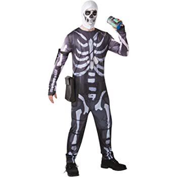 Fortnite - Disfraz Skull Trooper para adulto, talla M (Rubies ...