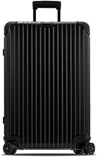 RIMOWA 日默瓦 TOPAS STEALTH系列 托运行李箱拉杆箱 924.70.01.4 深黑蓝色 28寸 万向轮 铝镁合金 海关锁(亚马逊进口直采,德国品牌)