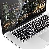 kwmobile Protezione per Tastiera QWERTY (US) in Silicone Compatibile con Apple MacBook Air 13''/ PRO Retina 13''/ 15'' (a metà 2016)