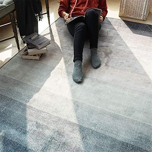 N/Z Haushaltsgeräte Großer Teppich Teppich Einfach und leicht Luxus Wohnzimmer Teppich Schlafzimmer Tisch Pad kann für Wohnzimmer gewaschen Werden (Farbe: B Größe: 160x230cm)