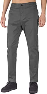 Hombre Chino Casual Pantalón Business Wear Slim Fit