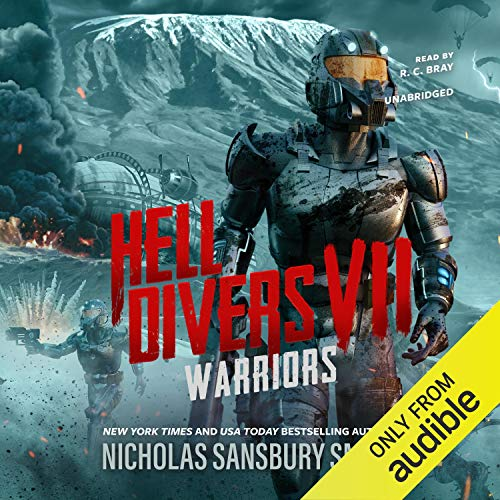 Hell Divers VII: Warriors audiobook cover art
