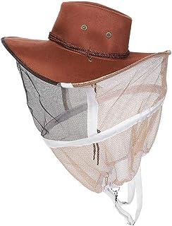 Redxiao Accesorio de Apicultura Anti picadura de Abeja Apicultor Anti Abeja Sombrero, Anti Abeja Sombrero, para Bloqueador...
