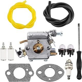 Dxent 309362003 Carburetor with Adjustment Tool Air Filter for Homelite Chainsaw UT10540 UT10542 UT10544 UT10546 UT10548 UT10560 UT10566 UT10568 UT10580 UT10582 UT10584 UT10586 UT10588 UT10640
