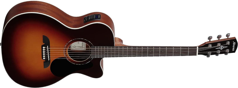 RF26CESB Guitarra AC OM/FOLK SP. MANC. EL. + G.Bag DLX