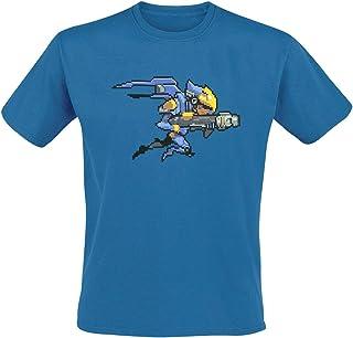 Unico Multicolor Overwatch Camiseta Tracer Hero L
