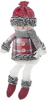 IH CASADECOR Frosty Toes Snowman Shelf Sitter, Multi