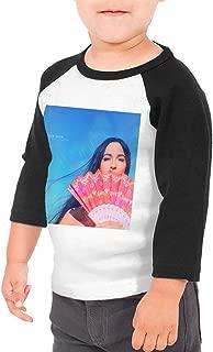 SheyAnsh Kacey Musgraves Baby Girls Boys 3/4 Sleeve Shirts Raglan Shirt Baseball Tee Cotton