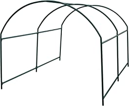 Strong Camel Greenhouse Replacement Frame for 10'X7'X6' Larger Hot Garden House, Support Arch Frame Climbing Plants/Flowers/Vegetables (10'X7'X6')
