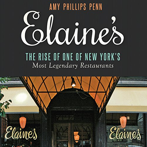 Elaine's audiobook cover art