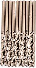 10 stücke M35 HSS Cobalt Bohrer HSS-CO Bohrer Set Spiralbohrer 1-5mm zum Bohren auf Edelstahl(4mm)