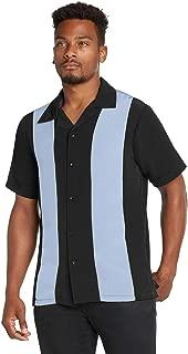 Men's Retro Bowling Bahama Camp Button-Down Shirt