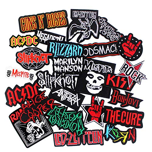 Top heavy metal patches iron on for 2020