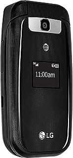LG B470 Basic Flip Phone (AT&T) - Black (Renewed)