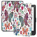 Esories Cover Kobo Clara HD, Slim Custodia con Funzione di Auto Sveglia/Sonno Case Protettiva in Pelle PU per Kobo Clara HD e-Book Reader 6'