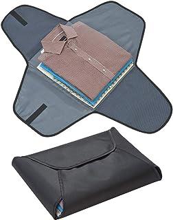 Skjorta för 4 stickade skjortor och blusar även på resor mikrofiber resväska bagage Organizer i svart från Notrash2003