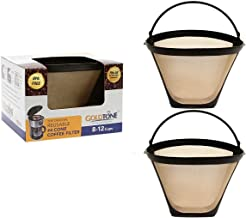GoldTone Brand Reusable No.4 Cone Style Replacement Cuisinart Coffee Filter replaces your Permanent Cuisinart Coffee Filter for Cuisinart Machines and Brewers (2 Pack)
