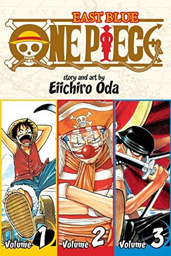One Piece (3-in-1 Edition), Vol. 1: Includes vols. 1, 2 & 3