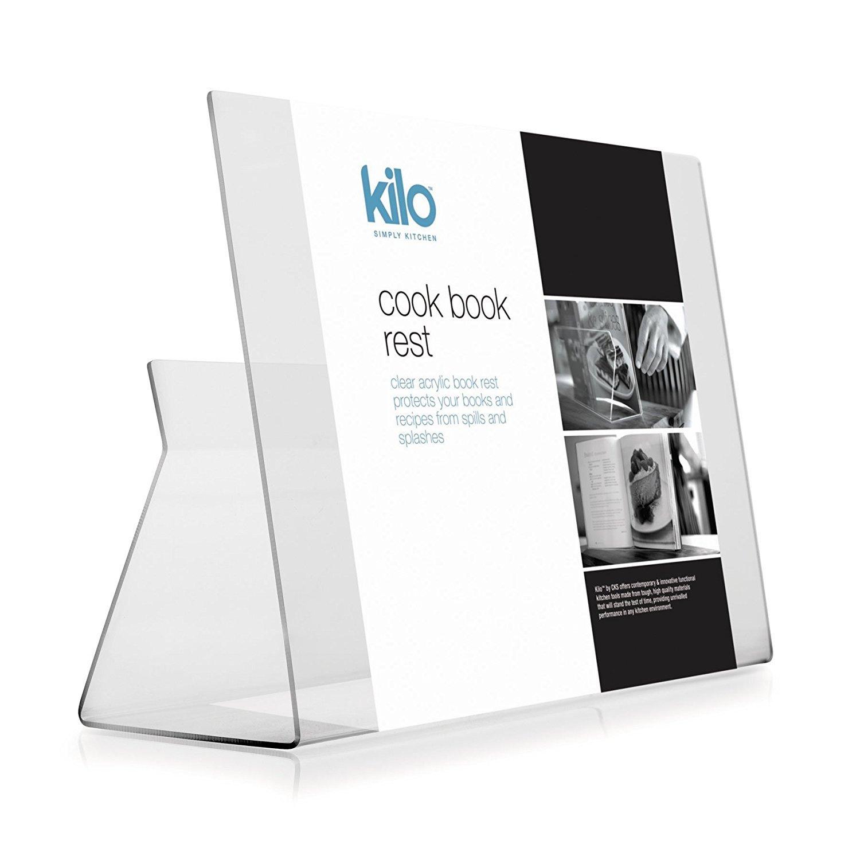 Dexam cook book stand acrylique 32 x 23 cm
