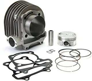 NCY 1100-1288 171cc Aluminum Big Bore Cylinder Kit for the Genuine 125 and 150 GY6 Scooters