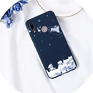 Merry Christmas Phone Case for TPU Huawei P20 Lite P30 P9 P10 Pro Mate 10 20 Pro Lite P Smart Y9 Honor 8X Nova 3 Coque,P10 Lite,Ksl-sdduobfz