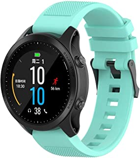 Sports Soft Silicone Replacement Watch Band Strap for Garmin Forerunner 945