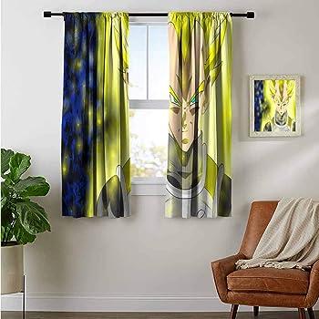 Dragon Ball 1 Panel Window Panels 3D Digital Print Window Curtains Bedroom Drape