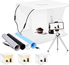 """Upgrade Emart 14"""" x 16"""" Photography Table Top Light Box 104 LED Portable Photo.."""