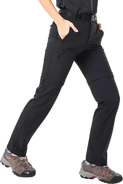 Trekkinghose Damen Zip Off 8