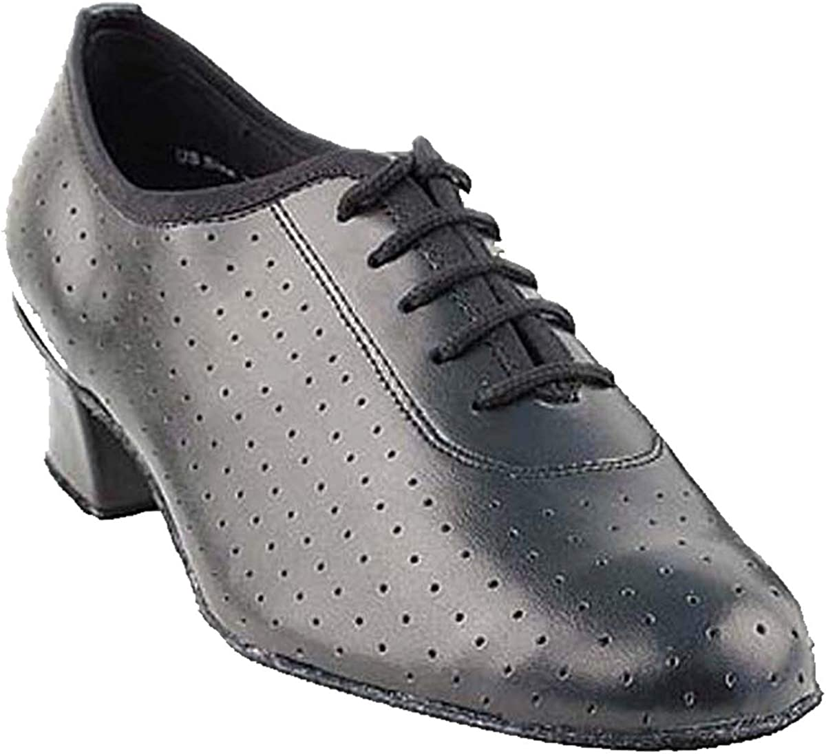 Womens Ballroom Dance Shoes Party Salsa Practice Shoes 2001EB Comfortable -Very Fine 1.5