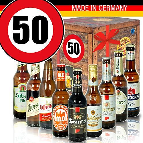 DDR Bierbox - Bier Set - Geburtstag 50 - Geschenk Idee Vater
