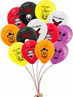 Merchant Medley Party Supplies Five Nights at Freddy's Inspired 24 Count Balloon 12