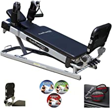 Pilates Power Gym 'Pro' 3-Elevation Mini Reformer Exercise System with 3..