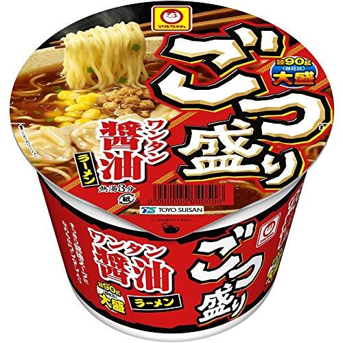 4位:東洋水産『ごつ盛りワンタン醤油ラーメン』