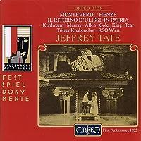 モンテヴェルディ:歌劇「ユリシーズの帰郷」 (ヘンツェ編曲版) (Monteverdi/Henze: Il ritorno d'Ulisse in patria)