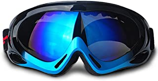 スキーゴーグル、 スノボートゴーグル、クリアーレンズ、ゴーグル、バイク、 サバゲー、PC 素材、 耐衝撃、メガネ 風防、 防塵、眼鏡拭きとメガネケース3点セット