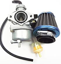 Autoparts Carburetor & Air Filter for Honda CRF70F XR70R Carb (Mounting Hole spacing 48mm)