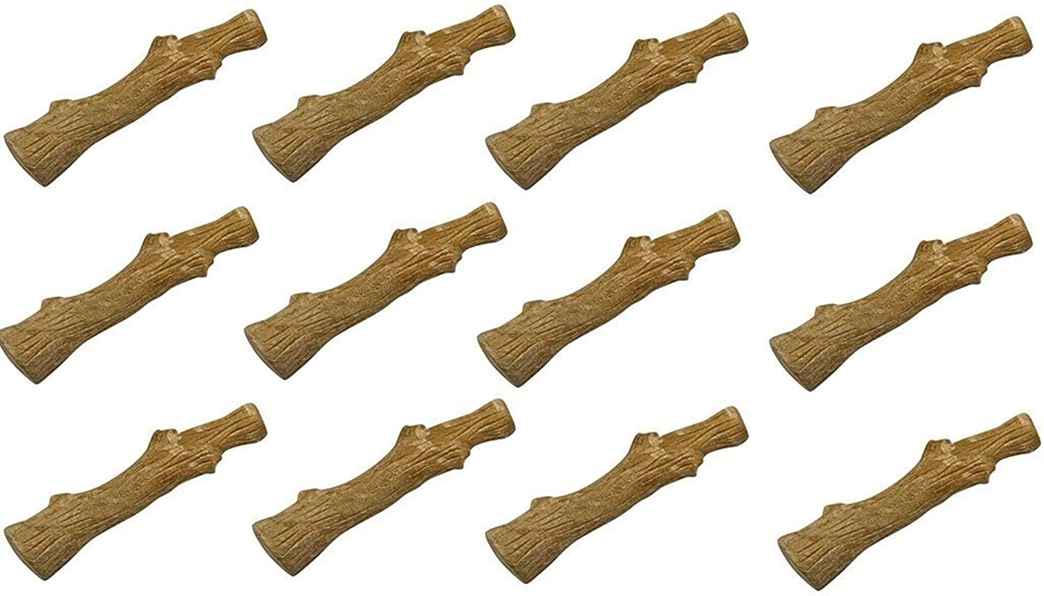 Petstages Dogwood Stick Small Value Packs (12Pack)