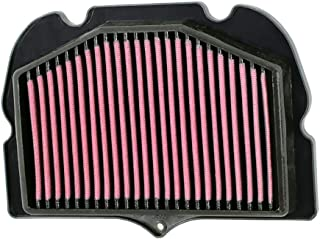 K&N Motorcycle Air Filter: High Flow Performance Air Filter Fits 2008-2018 Suzuki GSXR1300R Hyabusa Washable & Reusable OEM # Replacement 1378015H00 Air Filter SU-1308