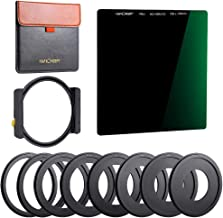 Sponsored Ad - K&F Concept 100x100mm Square Filter Kit ND1000 (10 Stop) with One Filter Holder and 8 Filter Ring Compatibl...