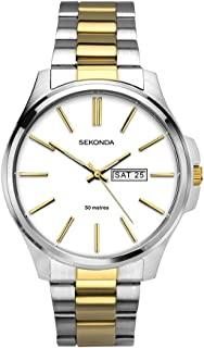 Unisex-Adult Analogue Classic Quartz Watch with Stainless Steel Strap 1439.27
