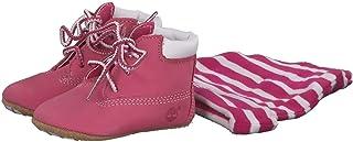 Timberland Crib Bootie W/Hat, Chaussons bébé fille
