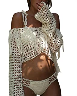 1b6615979 Amazon.es: bikini crochet: Ropa