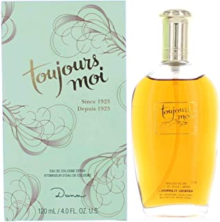 Toujours Moi by Dana for women Eau De Cologne Spray, 4 Ounce