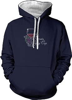 Nana's Sippy Cup - Rhinestone Wine Unisex Hoodie Sweatshirt