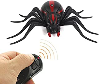 Remote Control Scary Wolf Spider Robot, Fake Spider Robot Games for Joke, Novelty Spoof Electric toy for Halloween Gift Decoration Party Stage Props by Magical Imaginary