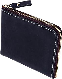 熟練した技術を誇る革職人が作る 小銭入れ メンズ コインケース 本革 L字ファスナー イタリアンレザー 財布