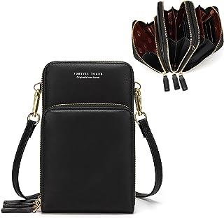 Small Crossbody Cell Phone Bag for Women, Mini Shoulder...