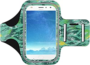 J&D Armband Compatible for Motorola Moto Z4/Moto Z2 Play/Moto One Action/Moto G8 Plus/Moto G8 Play Armband, Sports Armband with Key Holder Slot, Perfect Earphone Connection While Workout, Running
