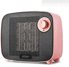 WCJ Calentador, hogar de Ahorro de energía baño pequeño Calentador pequeño Calentador Solar Ahorro de energía-(Color: Rosa)